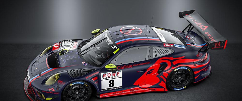 HUBER Motorsport startet 2020 in der SP9