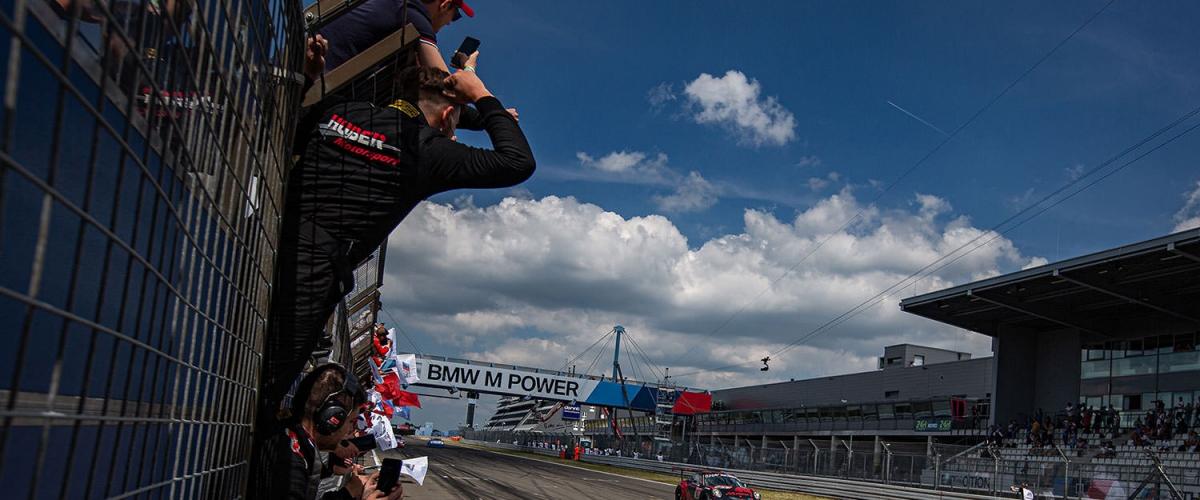 Huber Motorsport Saison Slider