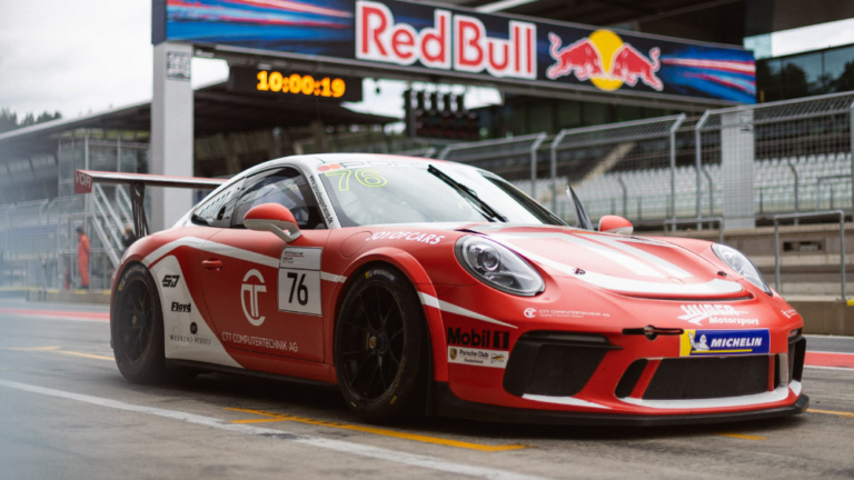 Porsche-Sportscup-2020-Red-Bull-Ring-Huber-Motorsport-Porsche-911-GT3-Cup-Nr.76